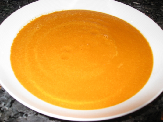 pumpkin pie in a bowl revisited