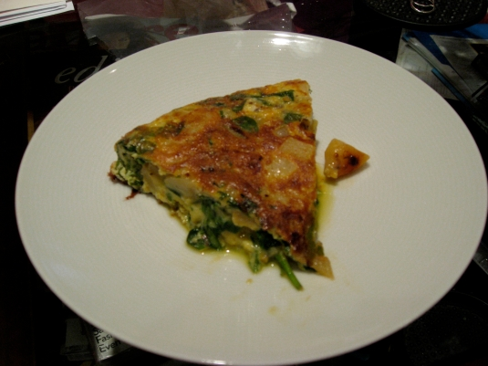 tortilla plated