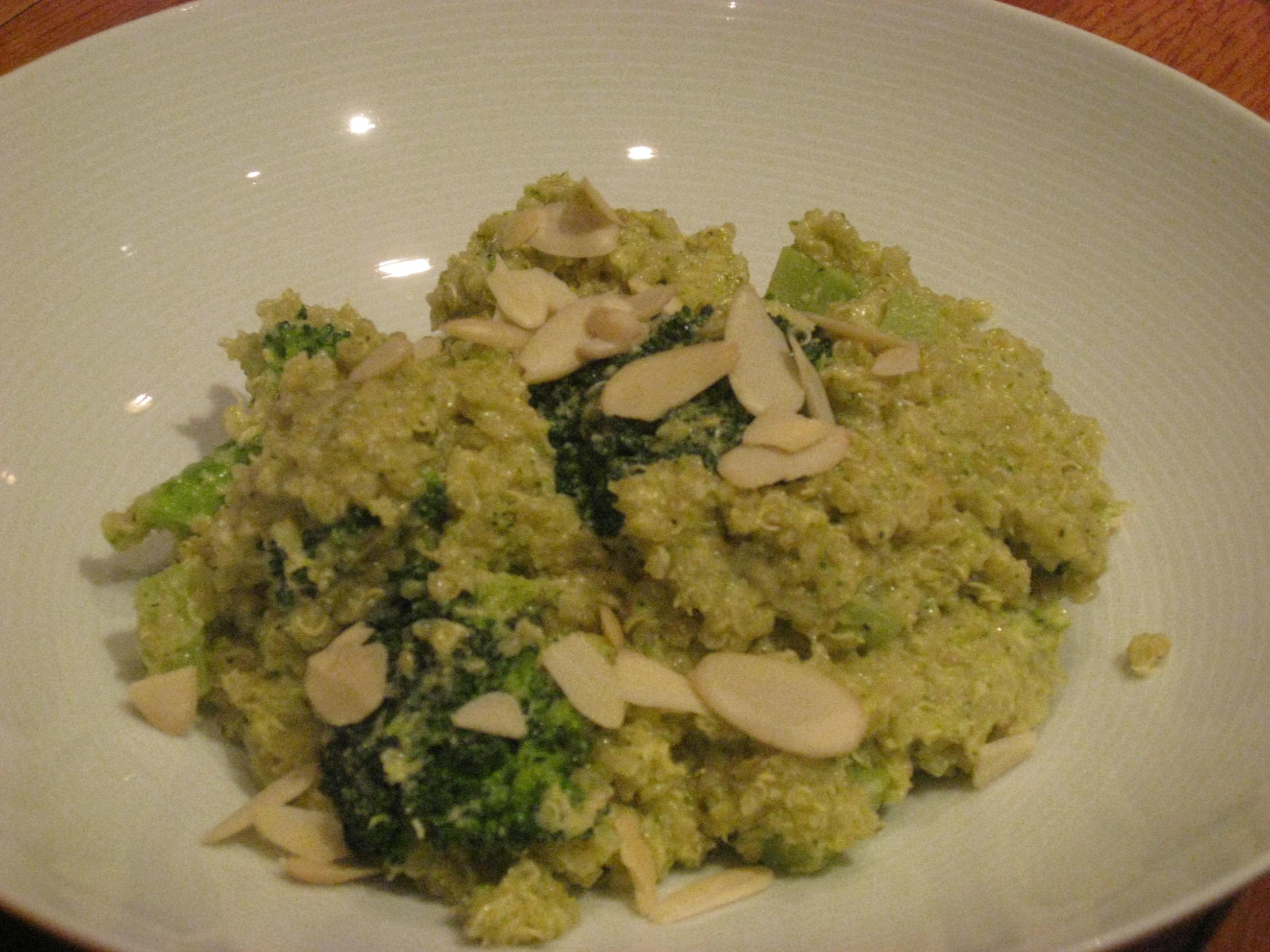 Double Broccoli Quinoa | Marisa's Healthy Kitchen