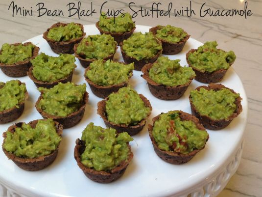Mini Bean Black Cups