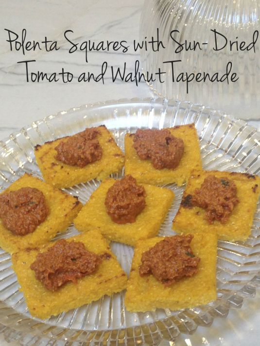 Polenta Squares with