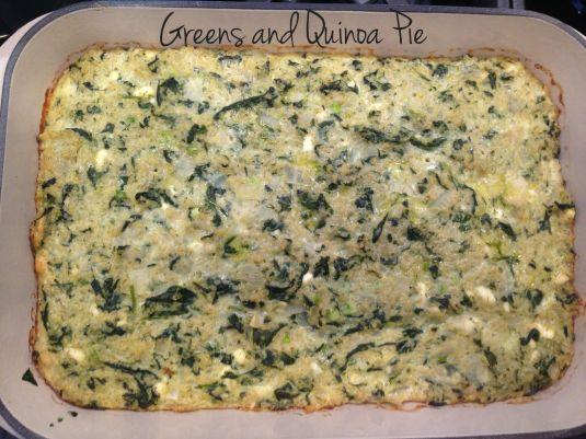Greens and Quinoa Pi