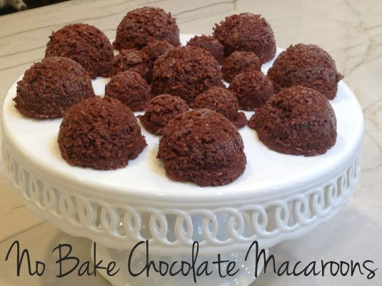 No Bake Chocolate Ma