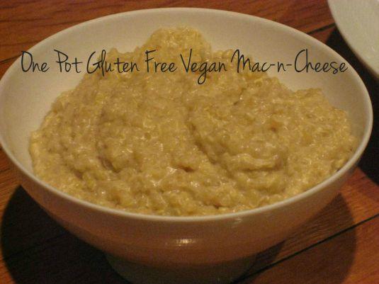 One Pot Gluten Free